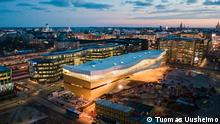 Finnland Central Library Oodi in Helsinki