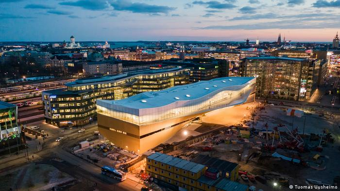 Finnland Central Library Oodi in Helsinki (Tuomas Uusheimo)