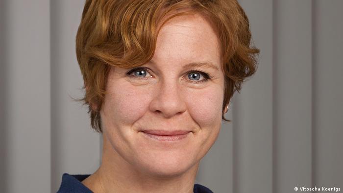 """Bettina Schorr, directora de """"trAndeS"""", el Programa de Postgrado en Desarrollo Sostenible y Desigualdades Sociales en la Región Andina, de la Universidad Libre de Berlín."""