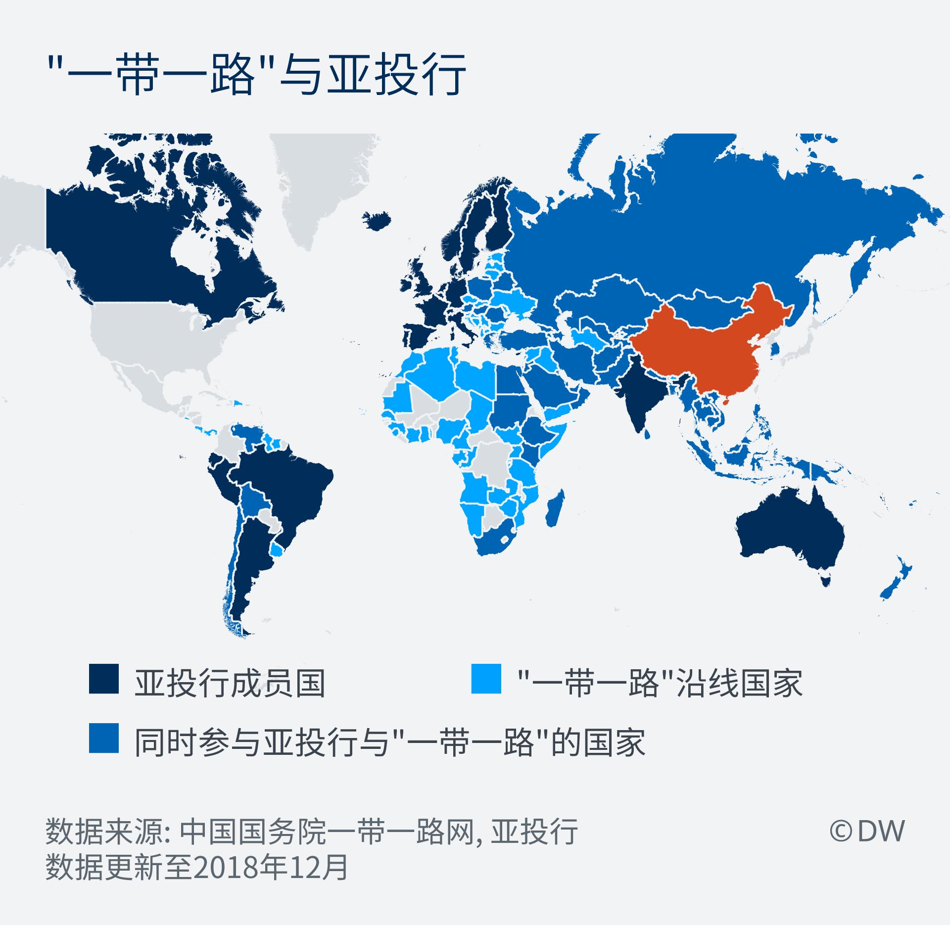 Infografik Chinas Wirtschaftsinitiativen ZH