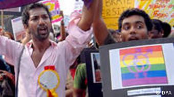 Gay Pride Parade in Indien