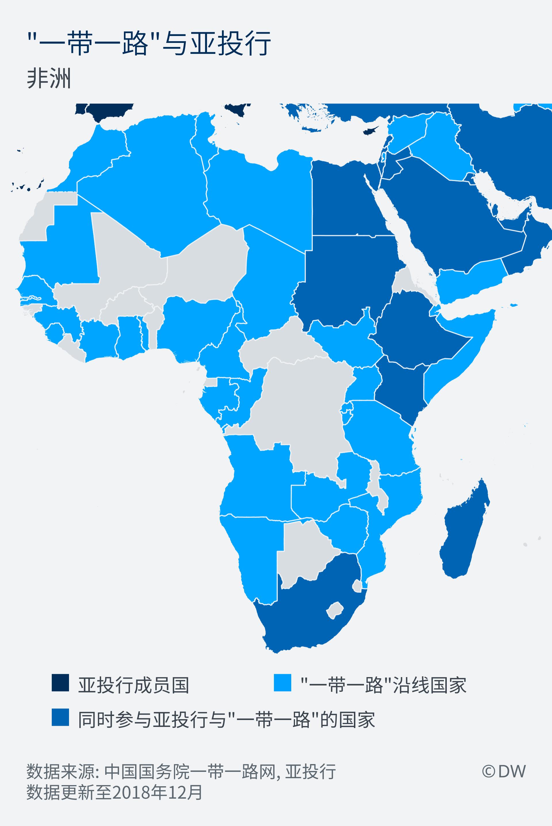 Infografik Chinas Wirtschaftsinitiativen Afrika ZH