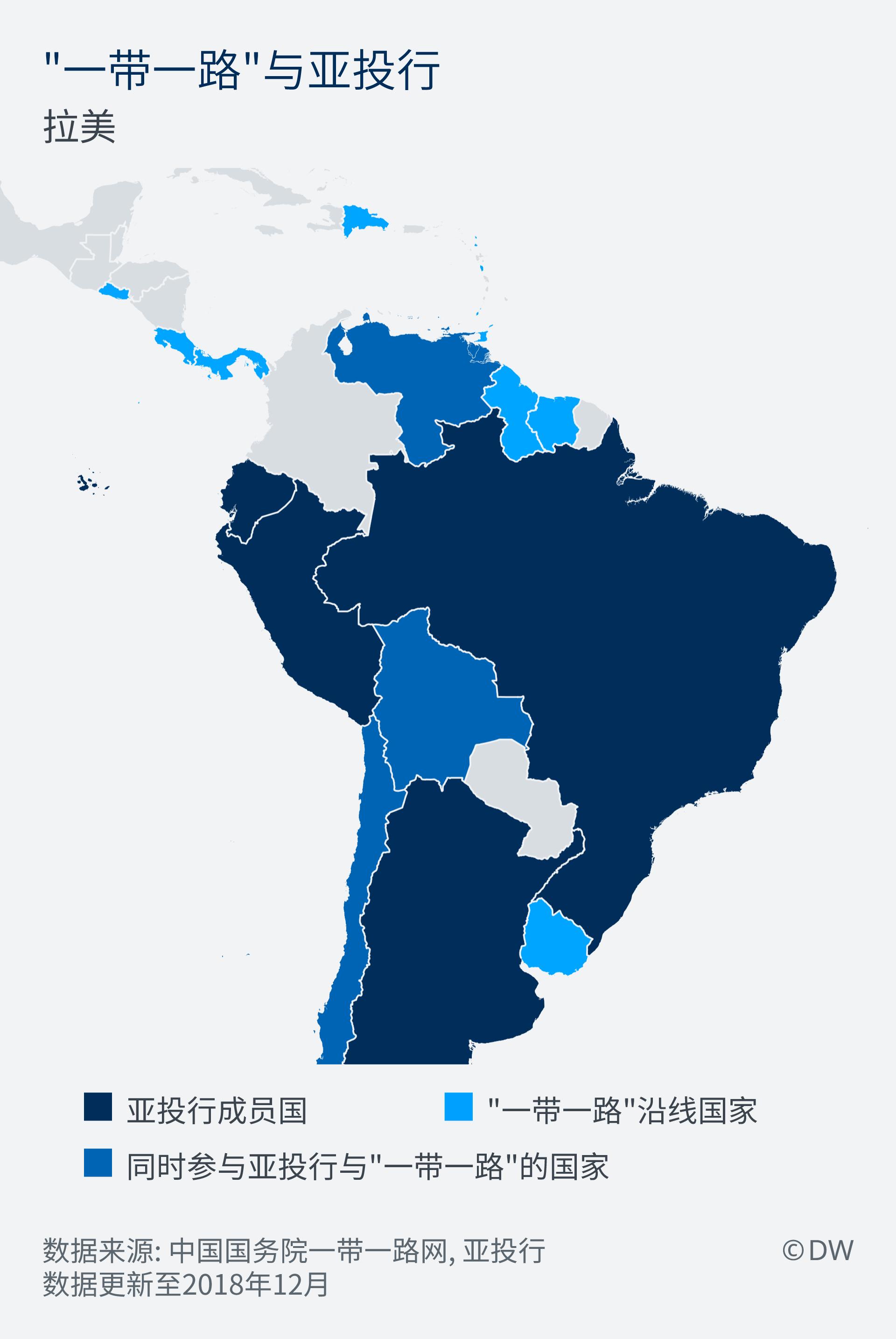 Infografik Chinas Wirtschaftsinitiativen Lateinamerika ZH