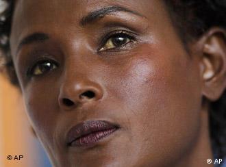 Porträt des somalischen Ex-Models Waris Dirie (Foto: AP)