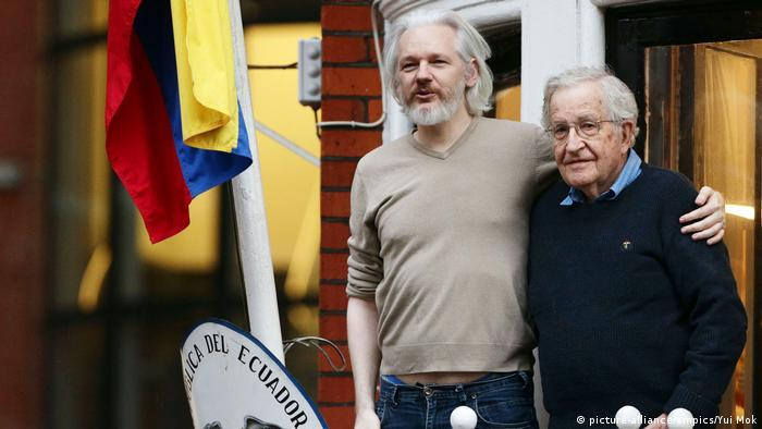 UK Noam Chomsky und Julian Assange | 2014