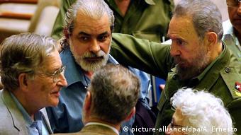 Kuba Noam Chomsky und Fidel Castro | 2003