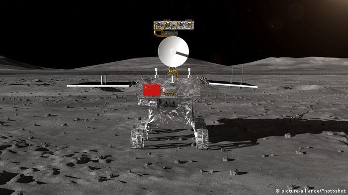 China Mondlandungsmission Chang'e-4