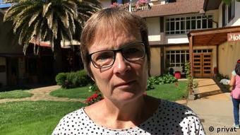 Elke Gryglewski, directora de la Fundación Memoriales de Baja Sajonia y del Sitio de Memoria ex campo de concentración Bergen Belsen.