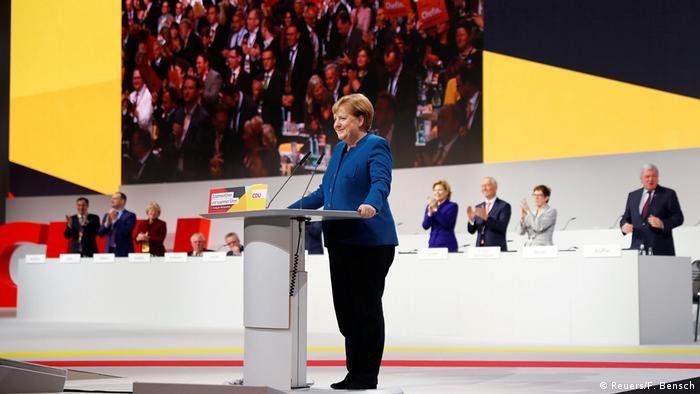 Ангела Меркель открыла съезд ХДС в Гамбурге