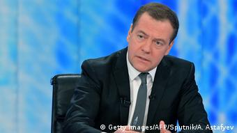 Russian Prime Minister Dmitry Medvedev (Getty Images/AFP/Sputnik/A. Astafyev)