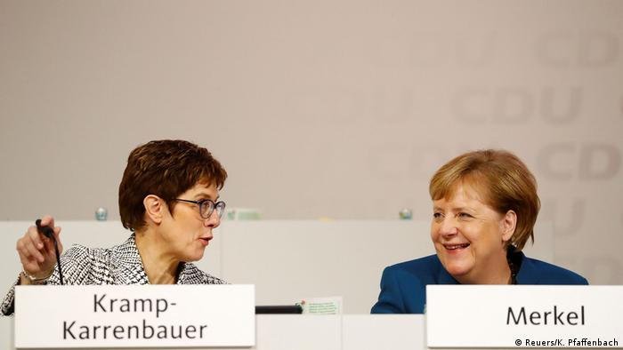 CDU-Parteitag in Hamburg (Reuers/K. Pfaffenbach)