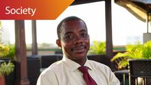 Kingsley Obeng-Kyereh Executive Coordinator Curious Minds in Accra, Ghana (DW/J. Endert)