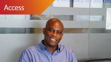 Victor Asante, Senior Manager Investement Fund for Electronic Communications (GIFEC) in Accra, Ghana (DW/J. Endert)