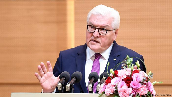 Bundespräsident Steinmeier in China