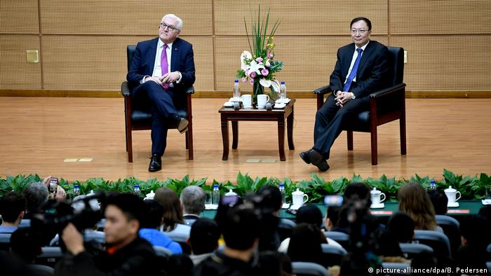 Bundespräsident Steinmeier in China (picture-alliance/dpa/B. Pedersen)