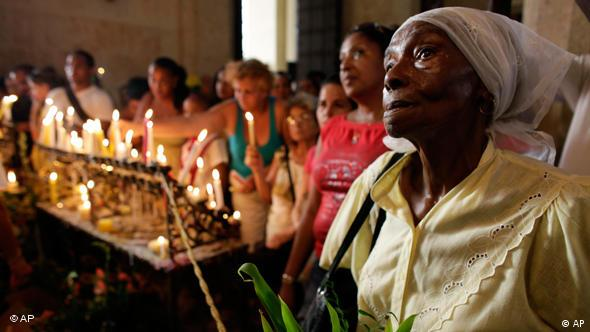 Messe in Havanna (Foto: AP Photo/Javier Galeano)