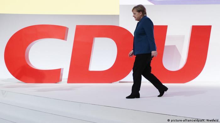 Deutschland CDU-Parteitag in Hamburg Merkel