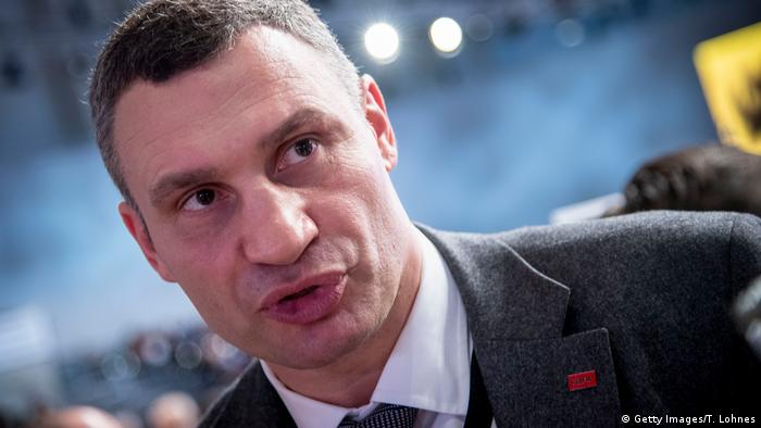 Vitali Klitschko at a CDU conference in Hamburg (Getty Images/T. Lohnes)