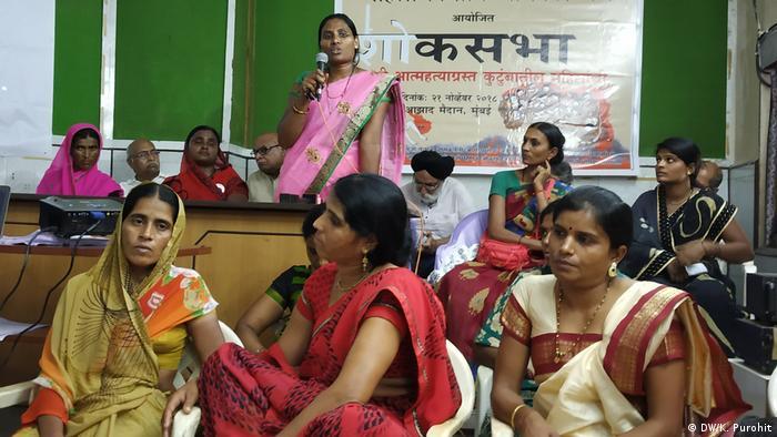 Indien - Weibliche Landwirte: Neelima Bhalerao (DW/K. Purohit)