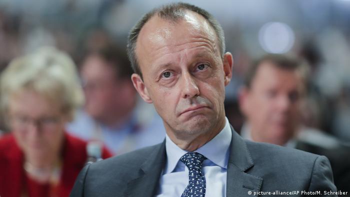 Deutschland CDU-Parteitag in Hamburg Friedrich Merz