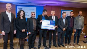 DW Akademie Preisverleihung Wettbewerb Media Loves Tech
