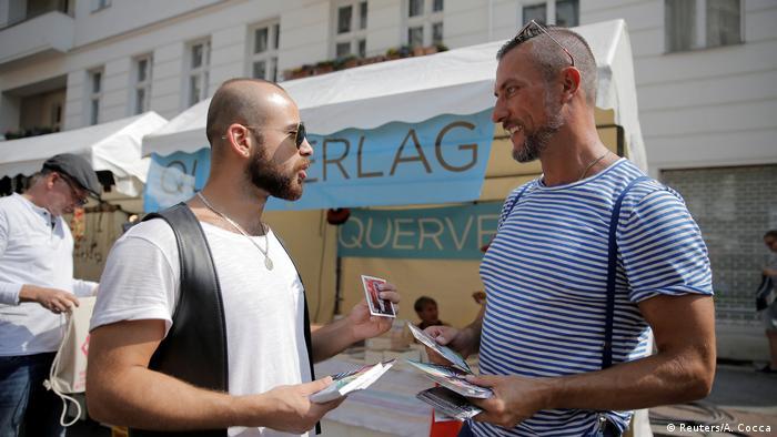Bildergalerie Deutschland drei Syrische Flüchtlinge finden neues Zuhause in Berlin (Reuters/A. Cocca)