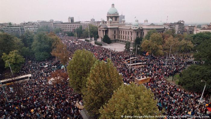 Prosvjedi protiv Miloševića 5.10.2000.