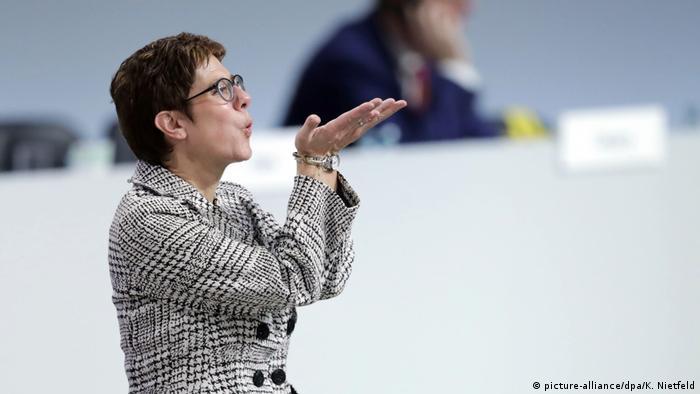 Deutschland CDU-Parteitag in Hamburg Kramp-Karrenbauer