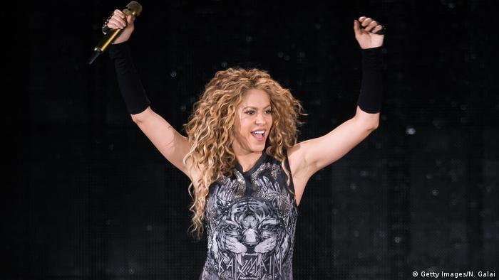 Shakira (Getty Images/N. Galai)