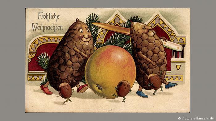 Рождественская почтовая открытка, 1906 год