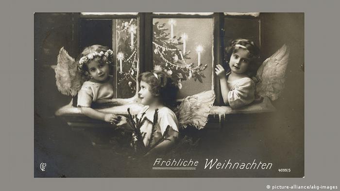 Рождественская почтовая открытка, 1915 год