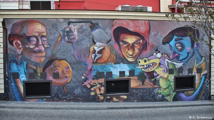 Bulgarien Plowdiw Kulturhauaptstadt Europas 2019 Kapana Graffiti (D. Schwiesau)