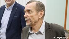 Russland Moskau - Menschenrechtsaktivisten Lew Ponomarjow während Prozess