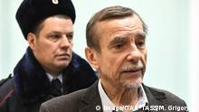 Russland Moskau - Lew Ponomaryov Menschenrechtsaktivist vor Gericht