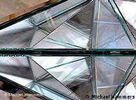 司马瀚(Michael Hammers)为中国北京环球金融中心设计的水晶墙