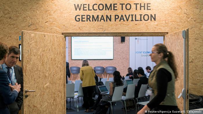 UN-Klimakonferenz 2018 in Katowice, Polen | Pavillion Deutschland
