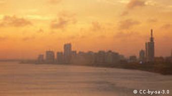 Skyline von Lagos , Nigeria