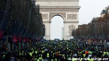 Frankreich Protest der Gelbwesten in Paris