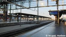 21.05.2015, xblx, Streik der GDL, Blick auf leere Gleise am Frankfurter Hauptbahnhof Streik der GDL 21 05 2015 xblx Strike the GDL Glance on Emptiness Tracks at Frankfurt Central Station Strike the GDL