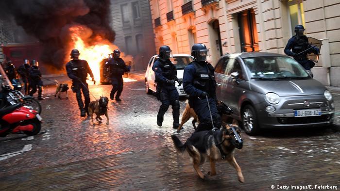 Frankreich Paris Proteste Gelb-Westen Gilet Jaunes (Getty Images/E. Feferberg)
