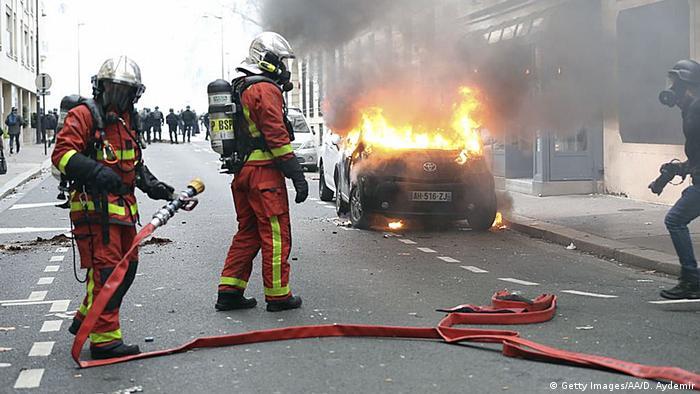 Frankreich Paris Proteste Gelb-Westen Gilet Jaunes (Getty Images/AA/D. Aydemir)