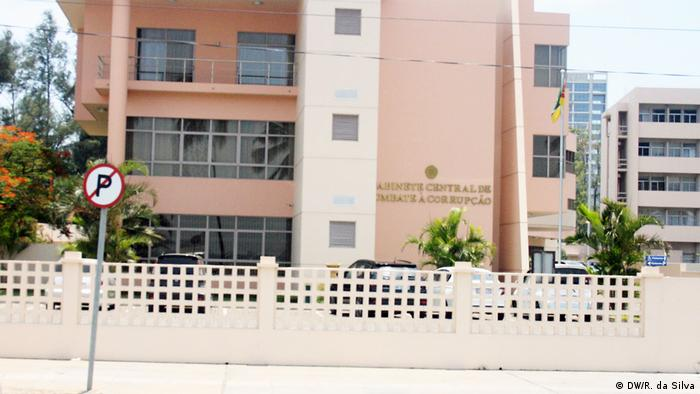 Sede do Gabinete Central de Combate à Corrupção em Maputo