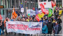 Deutschland Demonstration gegen das neue Polizeigesetz in Hannover