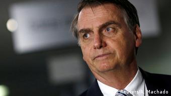 Brasilien Präsident Jair Bolsonaro (Reuters/A. Machado)