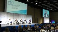 Russland Forum der Zivilgesellschaft in Moskau