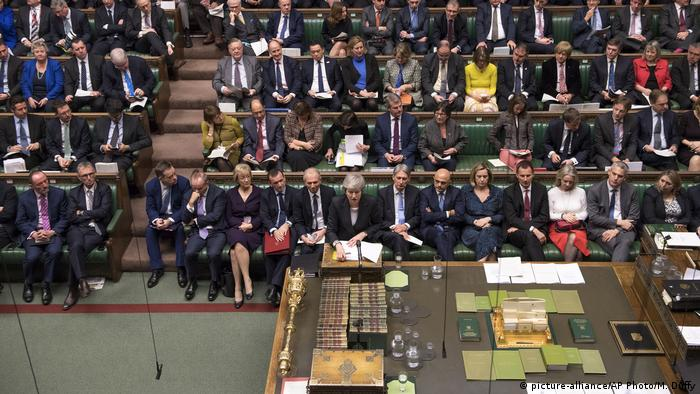 England House of Commons EU Brexit Theresa May