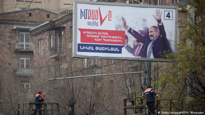 Armenien Eriwan Parlamentswahl