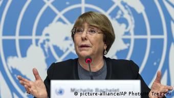 Michelle Bachelet spricht zum 70. Jahrestag der Erklärung der Menschenrechte