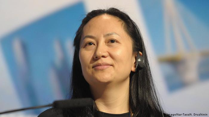 Meng Wanzhou was arrested in Vancouver (Imago/Itar-Tass/A. Druzhinin)