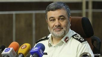 Iran Polizeichef Hossein Ashtari (tasnim)